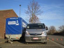 Opel Vivaro rijschoolauto rijbewijs BE