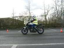 Oefenterrein motorrijschool Merelbeke