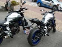 Rijschoolmotor Yamaha MT-07