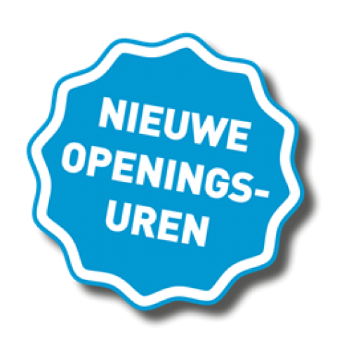 NIEUWE openingsuren vanaf 1 november voor het kantoor te Gent (Noordstraat)